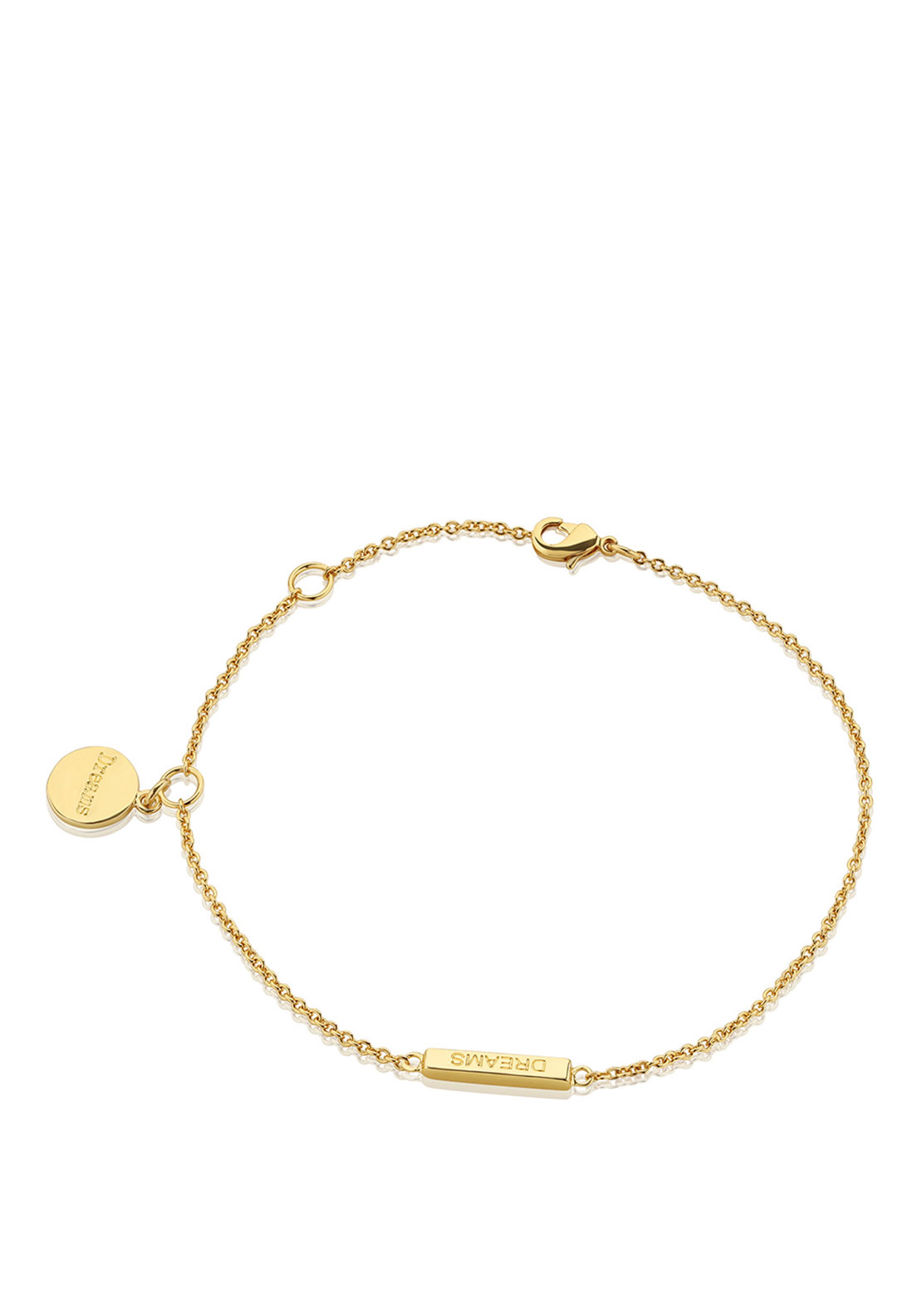 Newbridge Amy Pillar Bracelet, Gold