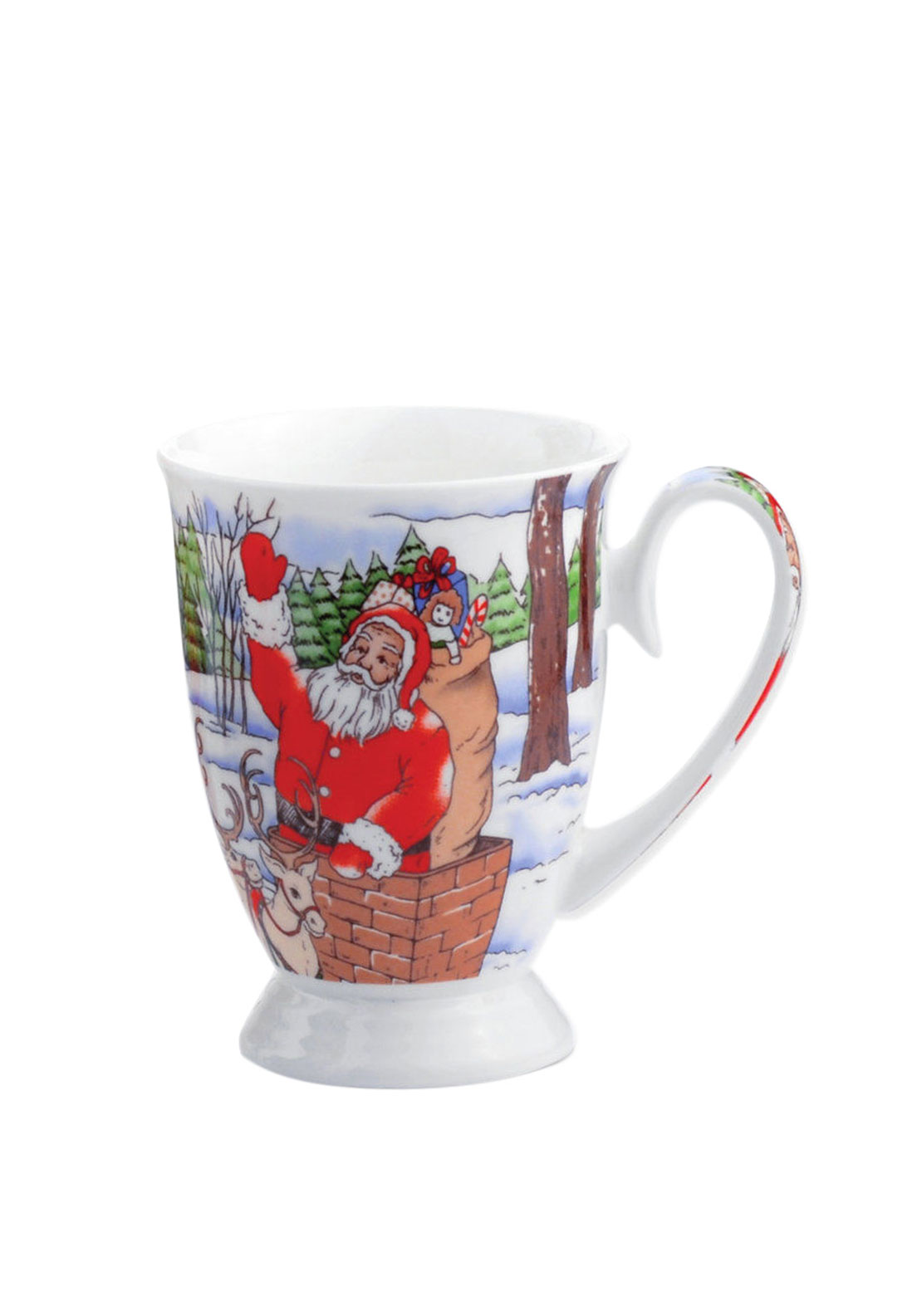 Newbridge Christmas Silverware Santa Mug