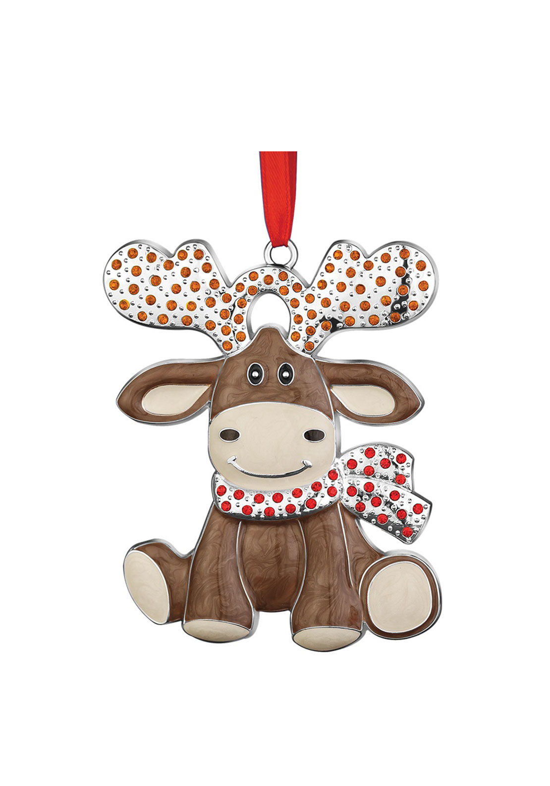 Newbridge Christmas Hanging Festive Moose Decoration