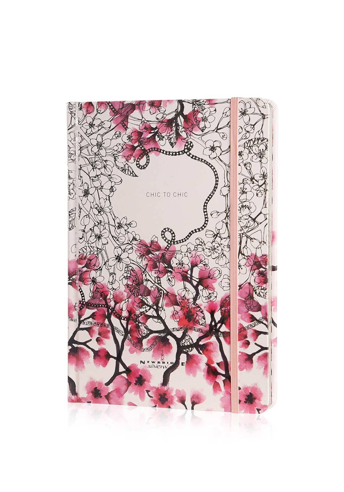Newbridge Notebook Pink, Chic to Chic