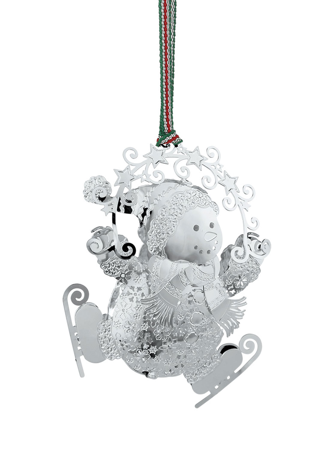Newbridge Christmas Hanging Snowman On Skates Decoration
