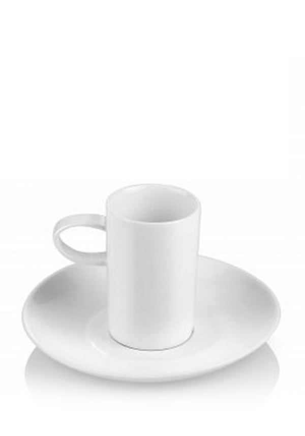 Newbridge Home Café Collection Espresso Cup and Saucer, set of 2