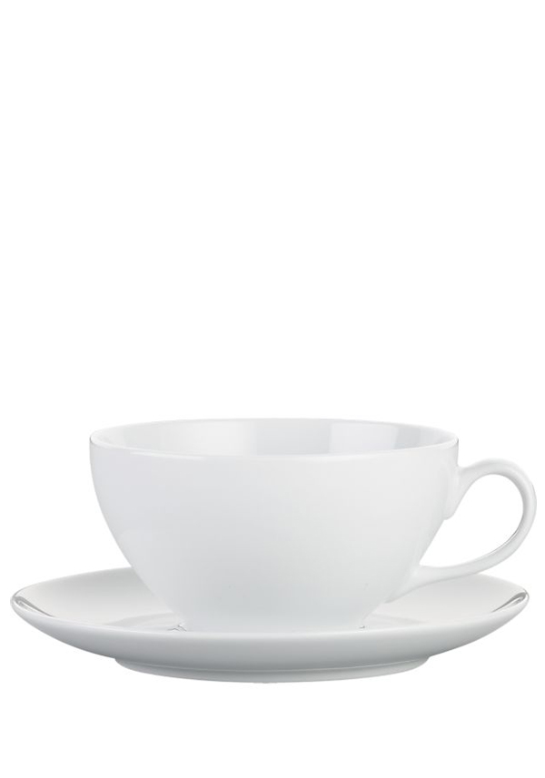 Newbridge Home Café Collection Cappuccino Cup and Saucer, set of 4