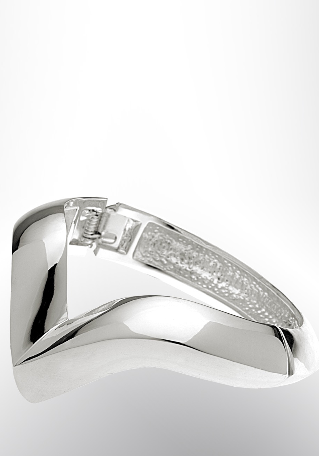 Newbridge eShe Magnetic Closure Bangle, Silver