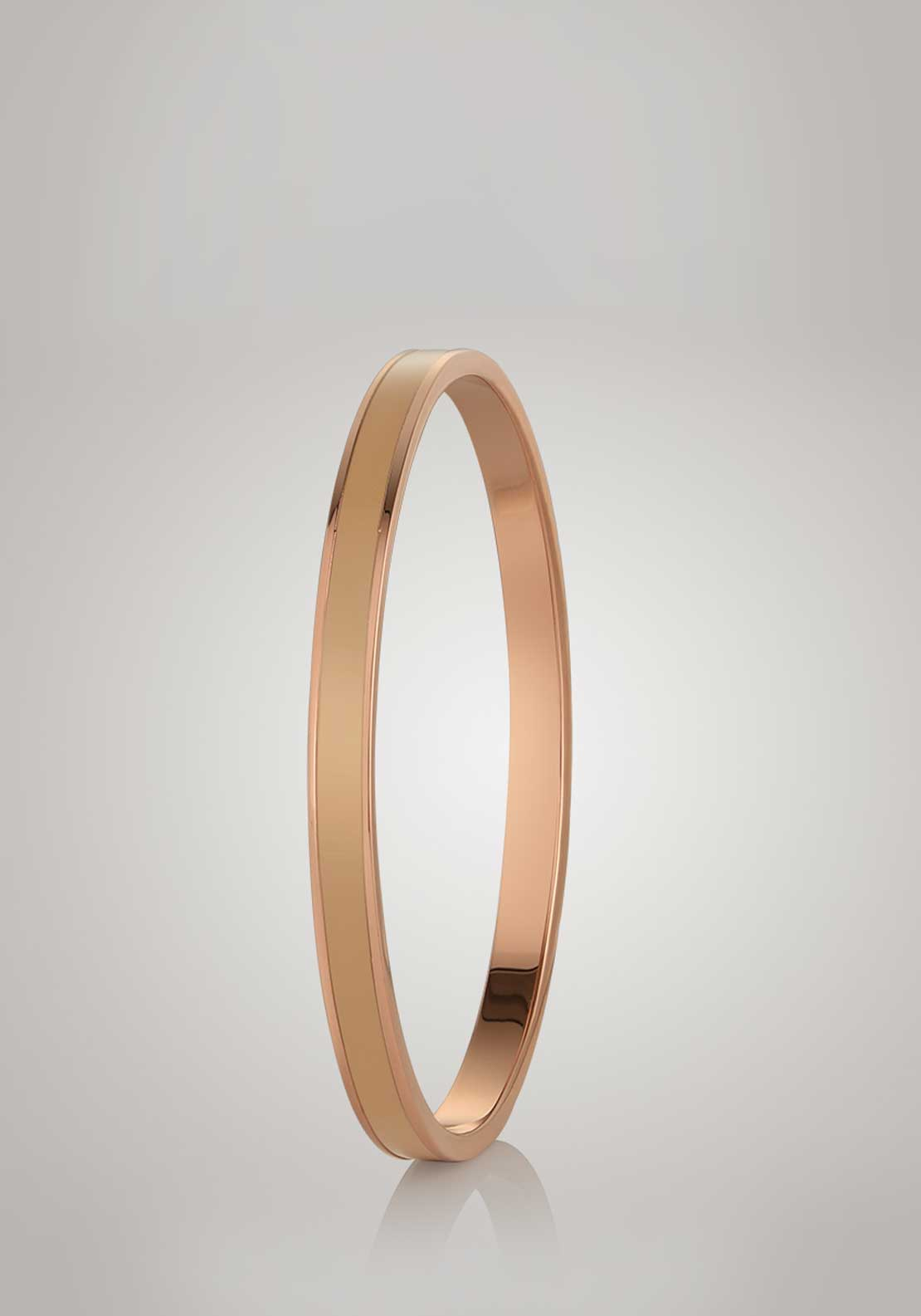 Newbridge Silverware Small Nude Bangle, Rose Gold