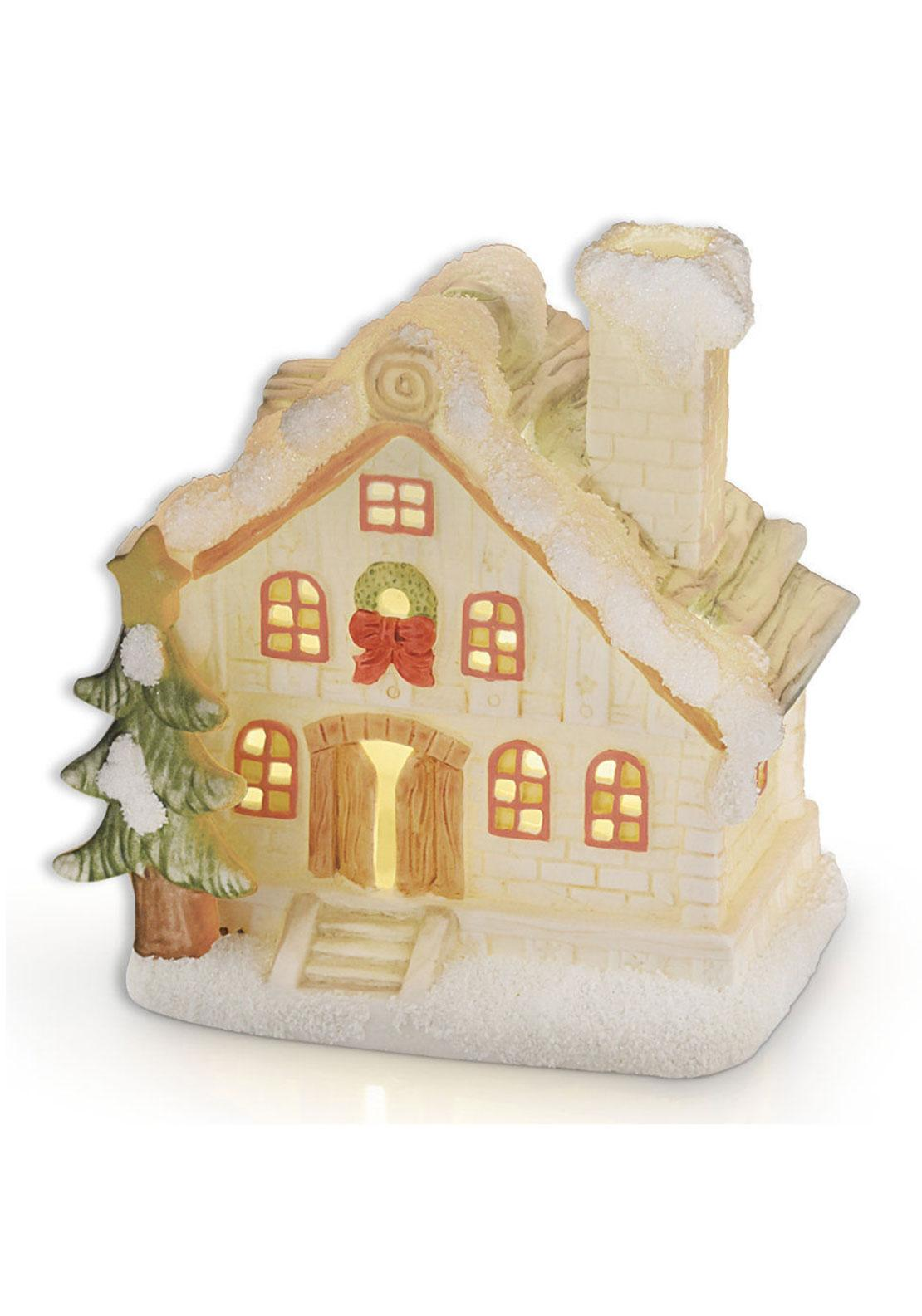Newbridge Christmas House Ornament with Light