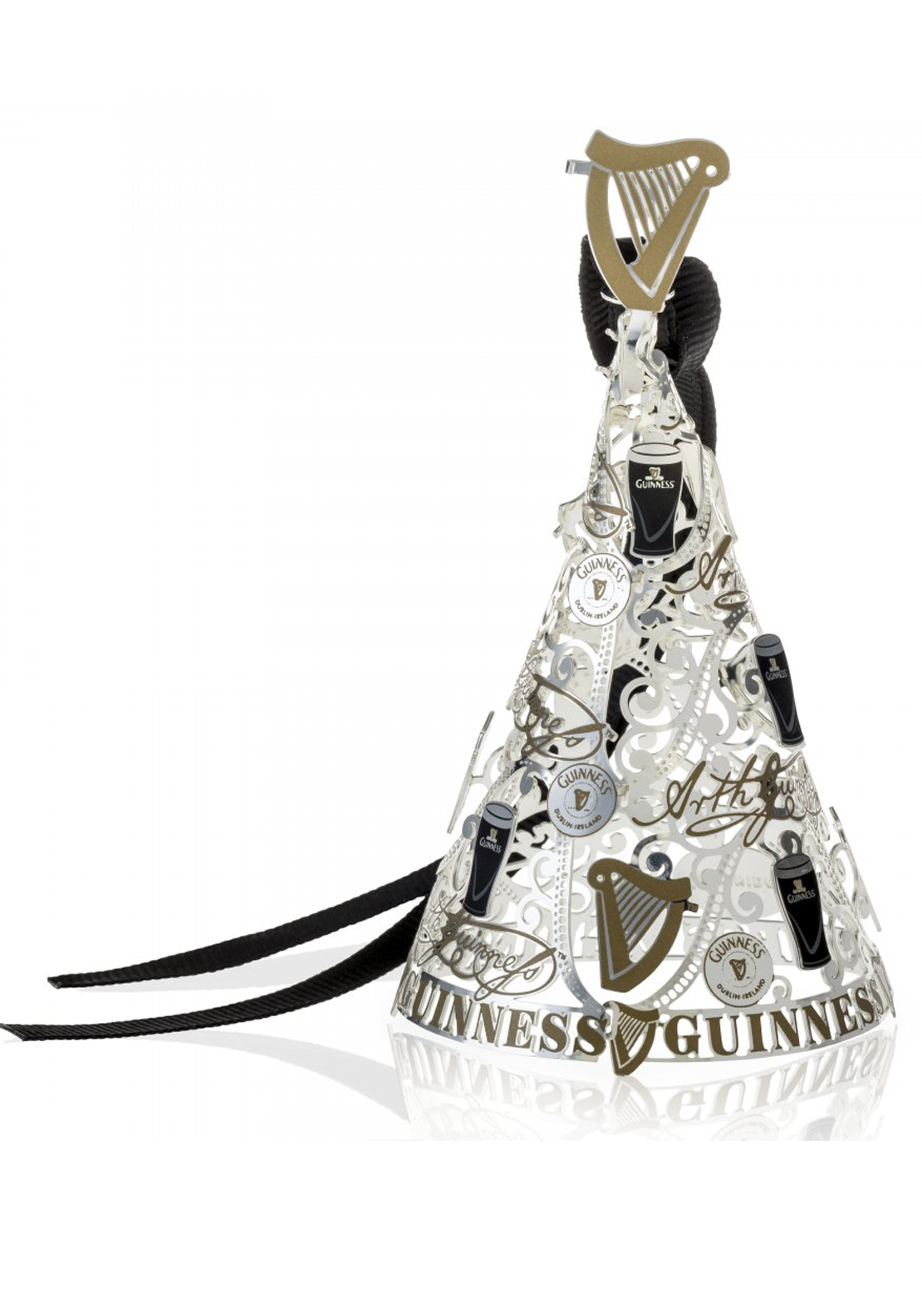 Guinness Newbridge Silverware Christmas Tree Decoration