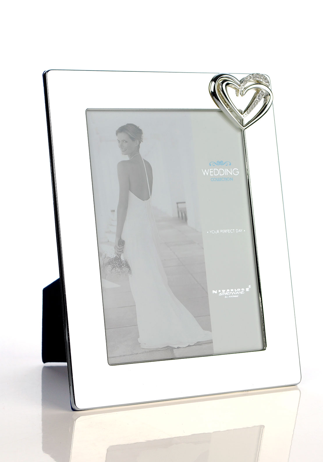 Newbridge Wedding Collection Bridal Photo Frame, 5 x 7 inches