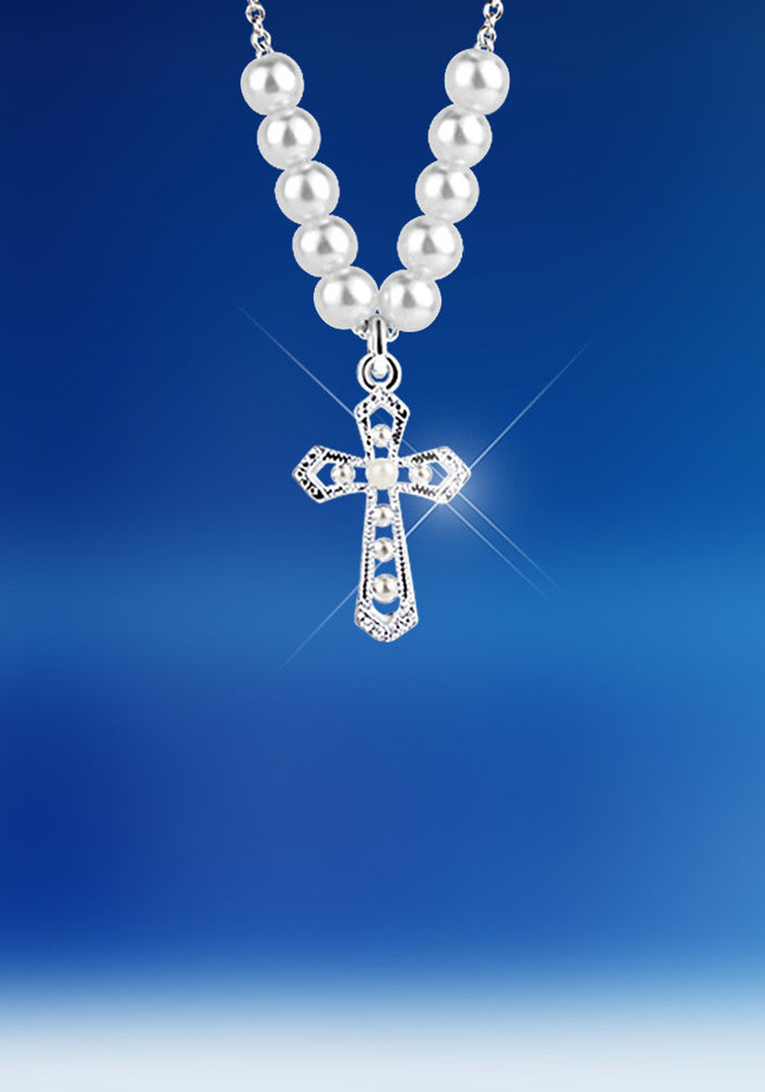 Newbridge Silverware Cross Necklace