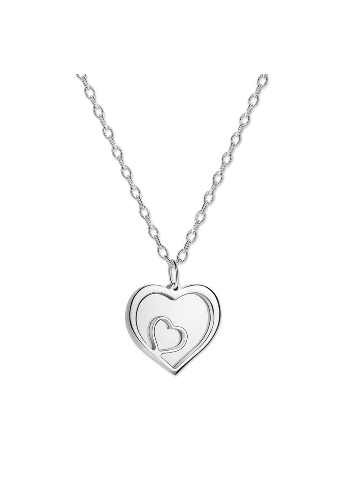 Newbridge Mementos Triple Heart Pendant, Silver