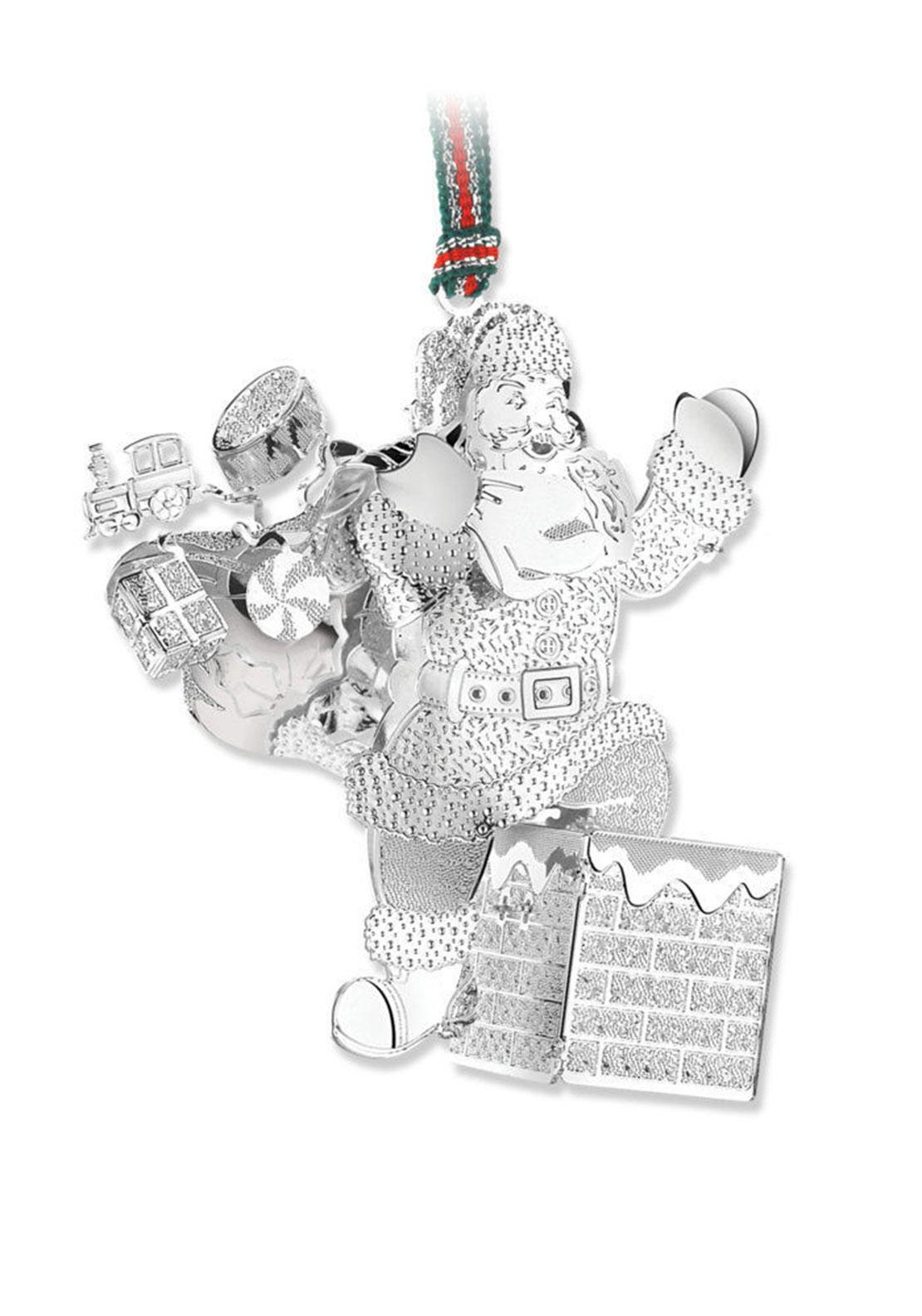 Newbridge Christmas Santa on Chimney Hanging Decoration