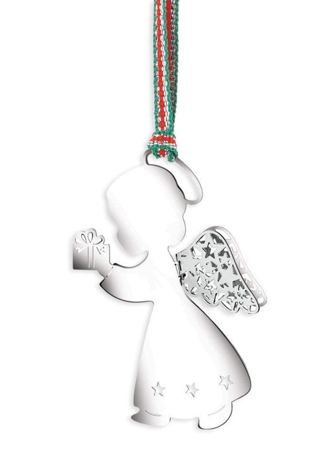 Newbridge Christmas Angel with Present Hanging Decoration
