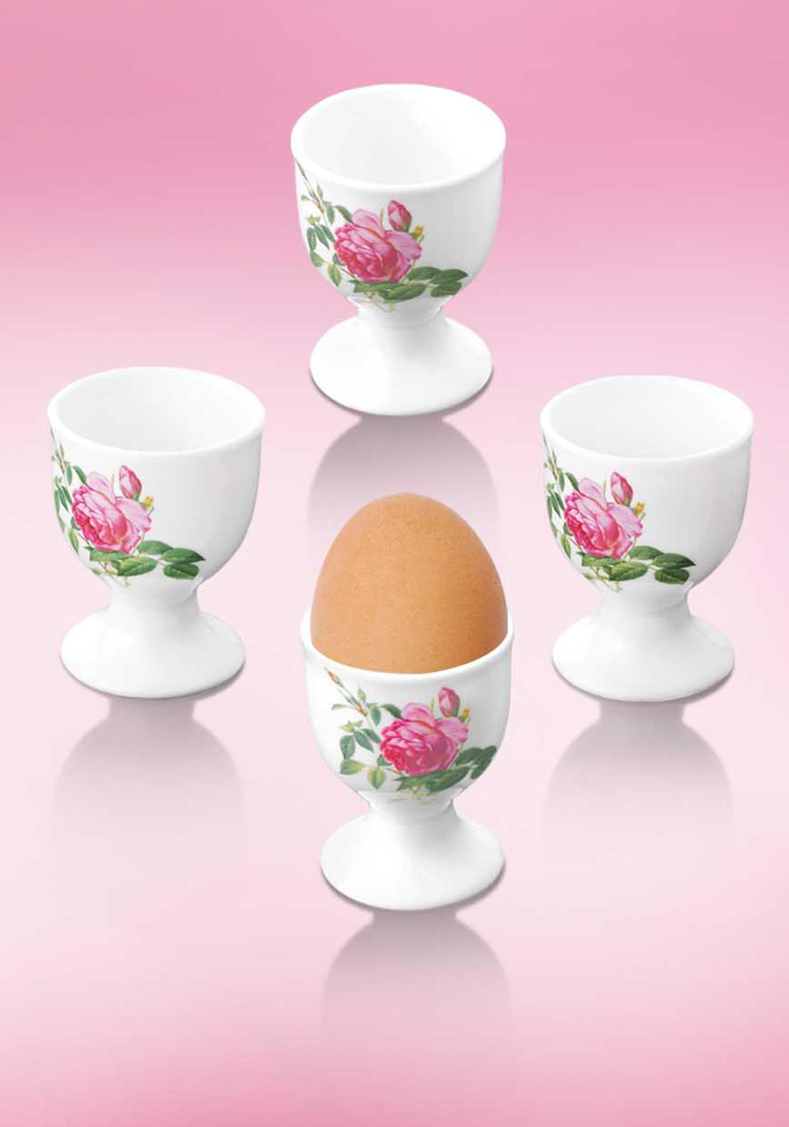 Newbridge Home Rose Eggcup, Set of 4