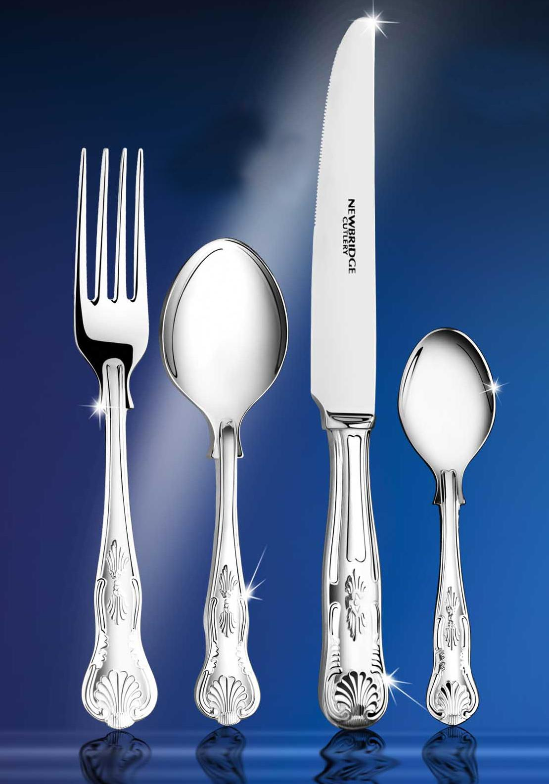 Newbridge Kings Stainless Steel Collectors Cutlery Set, 88pce