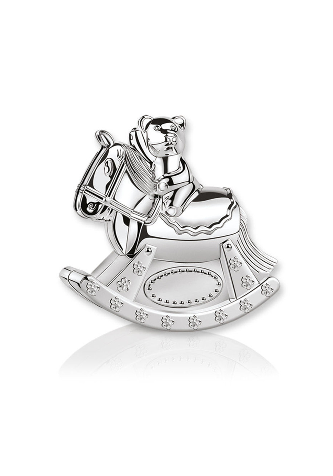 Newbridge Silverware Kids Collection Teddy Rocking Horse Moneybox
