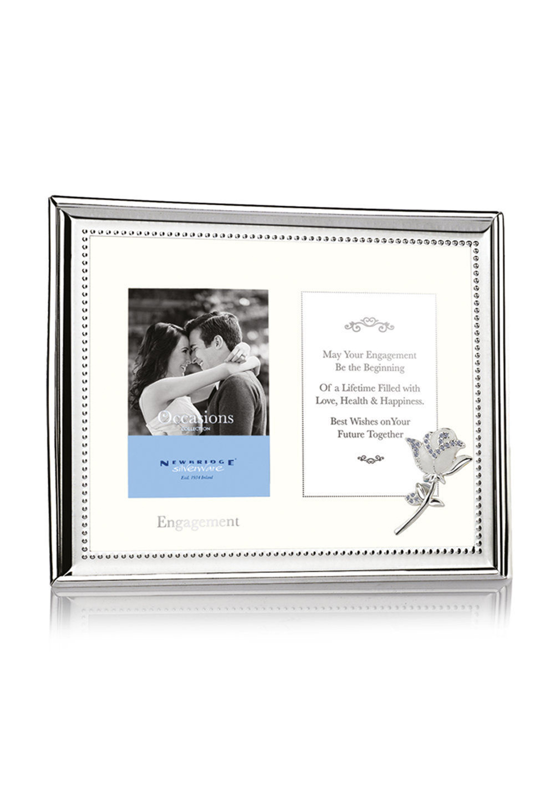 Newbridge Engagement Double Frame, 3 x 4 inches
