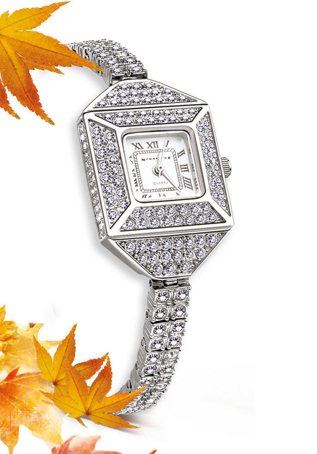 Newbridge Vintage Style Watch Square Watch