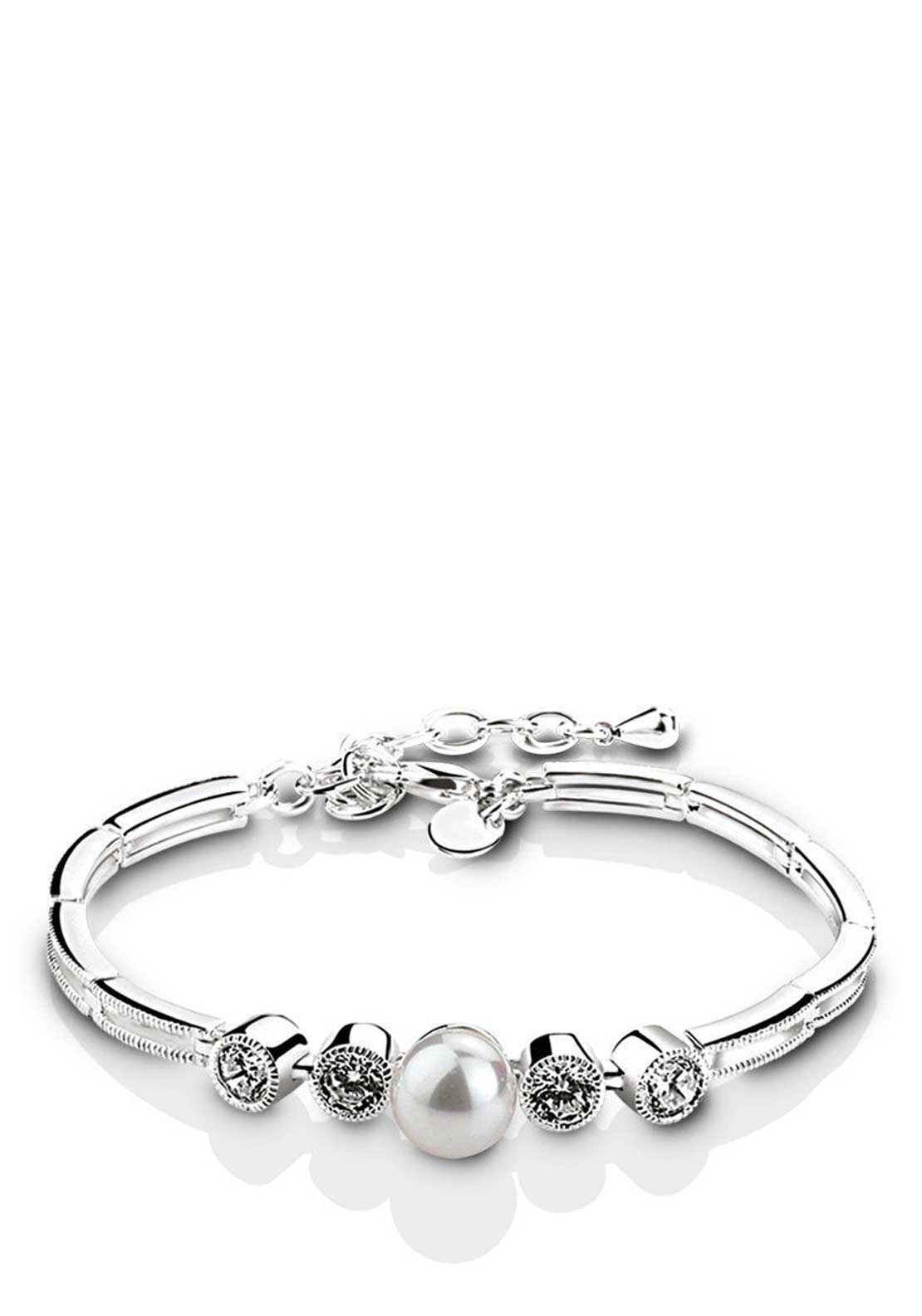 Newbridge Princess Grace Collection Bracelet, Silver