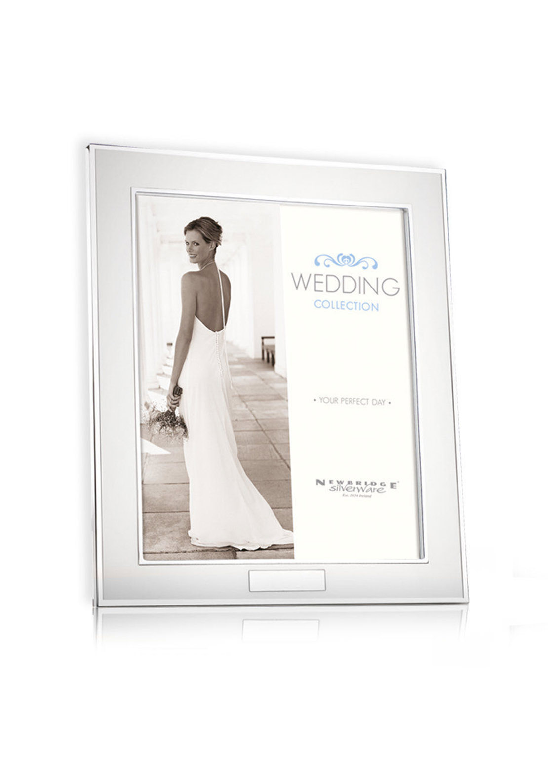 Newbridge Silverware Wedding Frame, 8 x 10 in