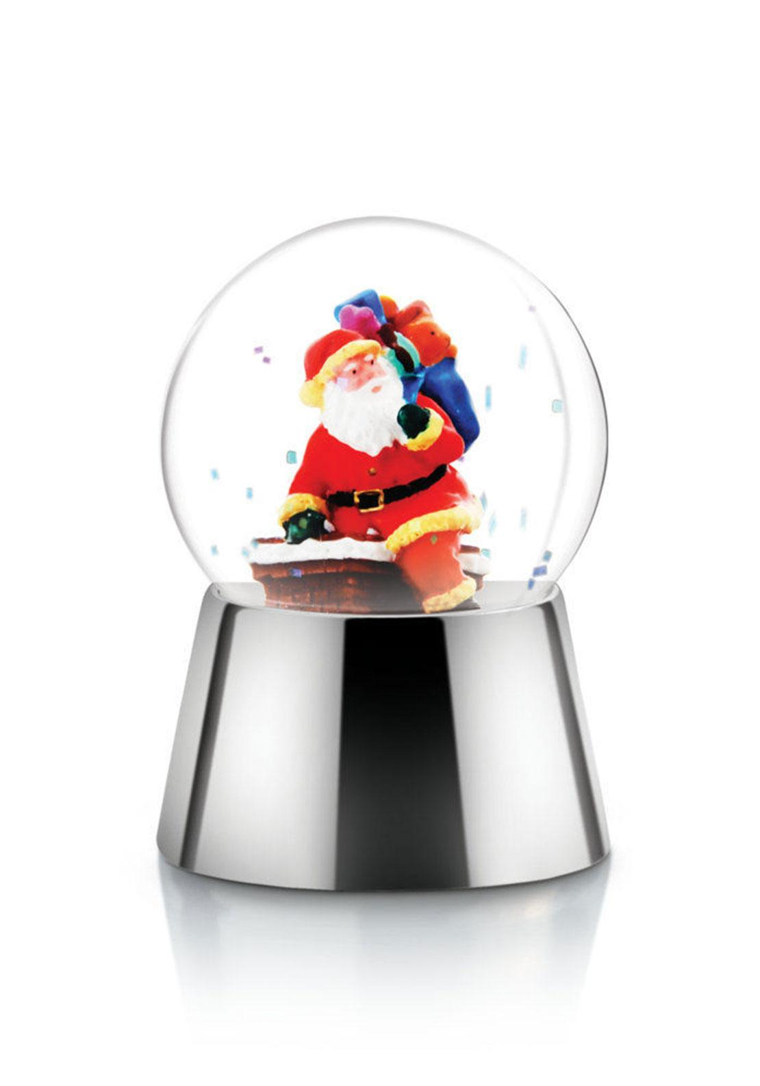 Newbridge Christmas Snow Globe with Santa, Small