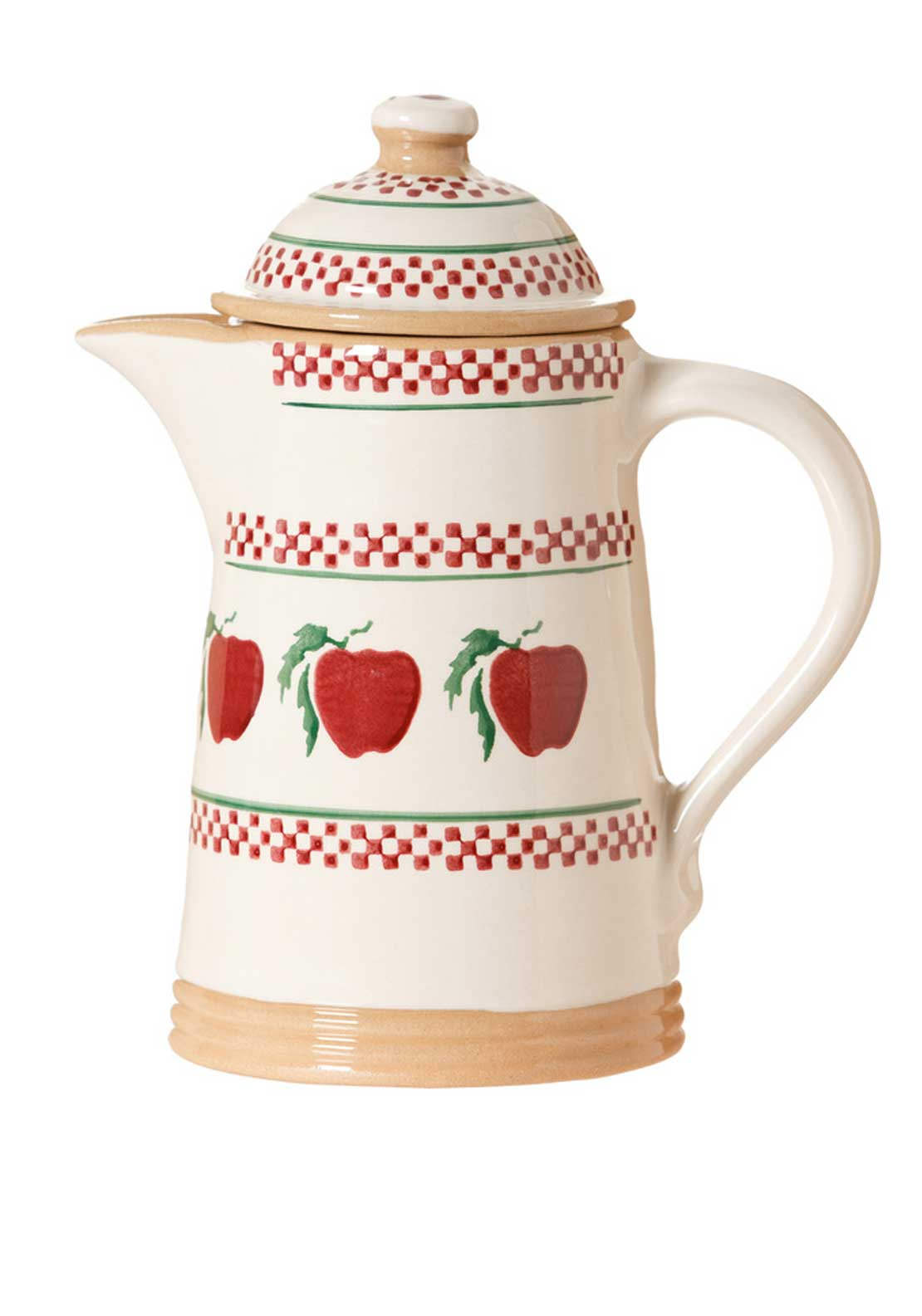Nicholas Mosse Pottery Apple Coffee Pot