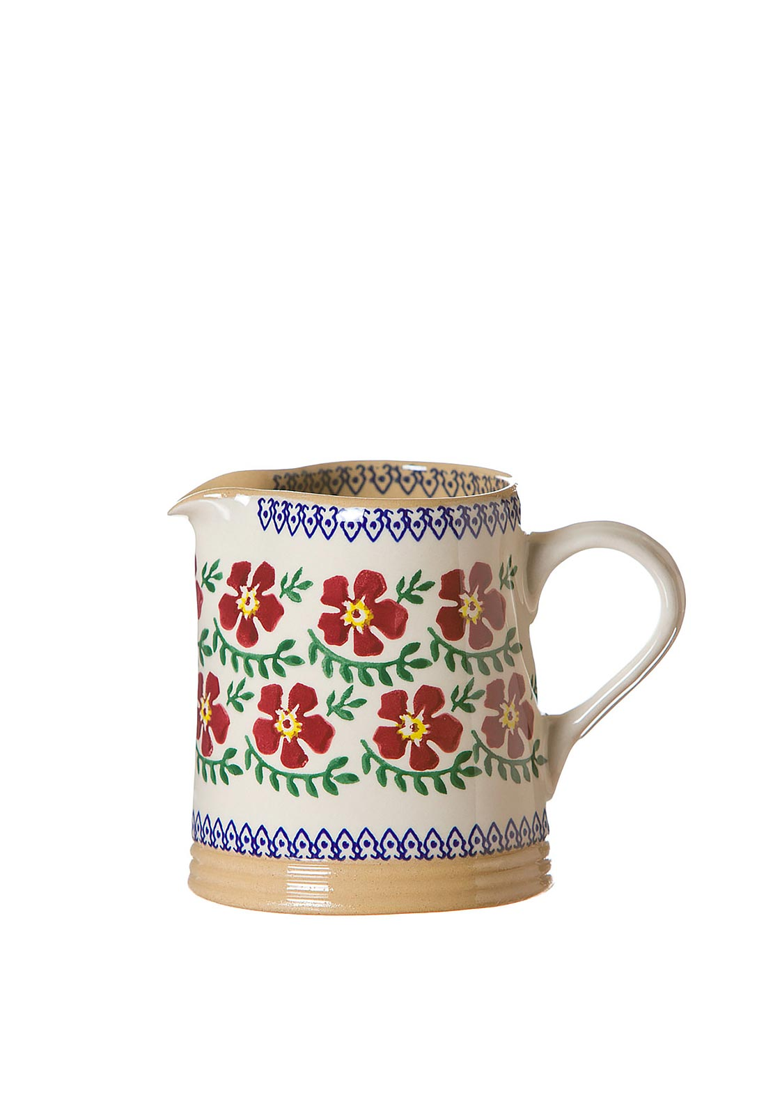 Nicholas Mosse Pottery Old Rose Cylinder Jug, Small