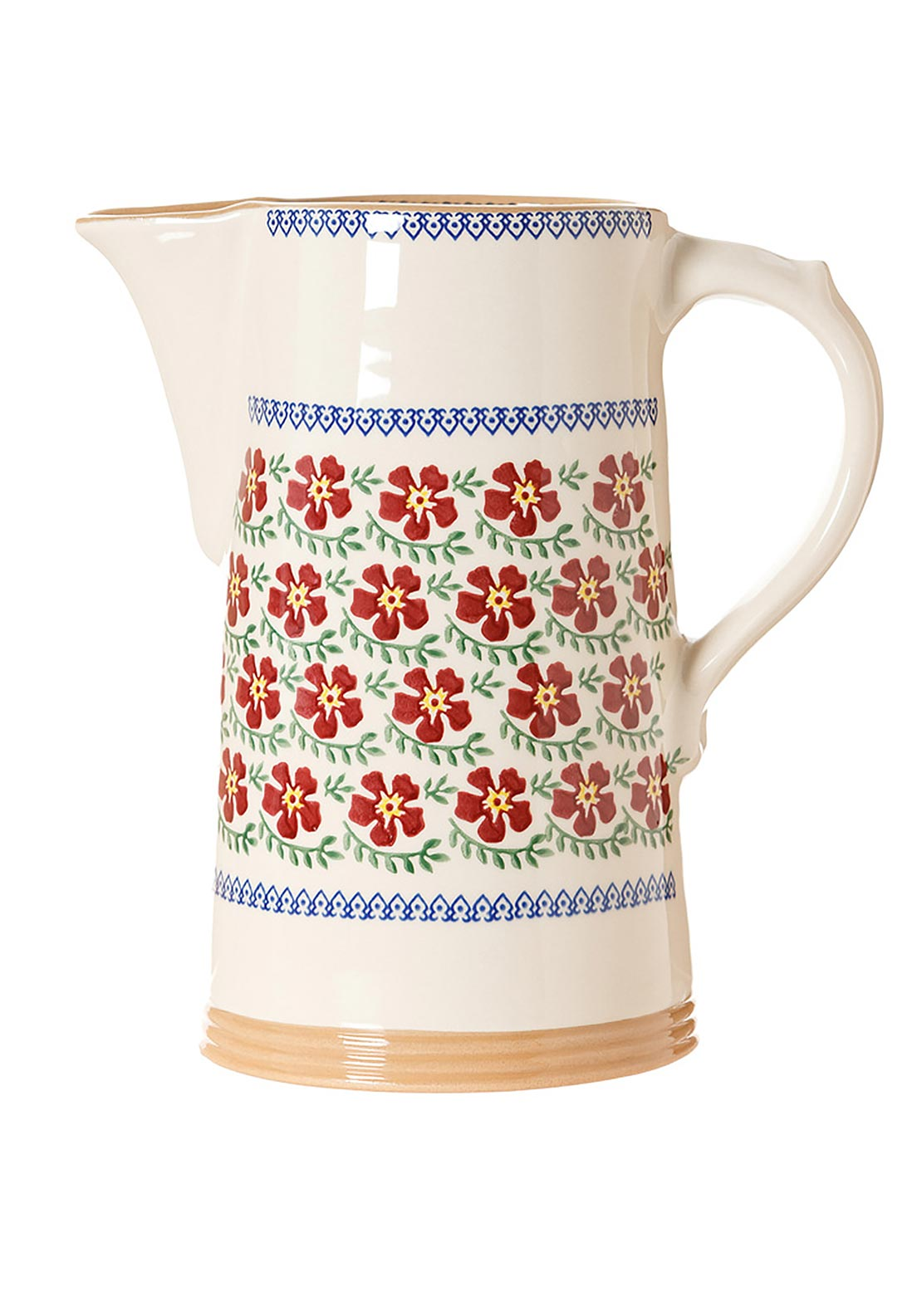 Nicholas Mosse Pottery Old Rose Jug, Extra-Large