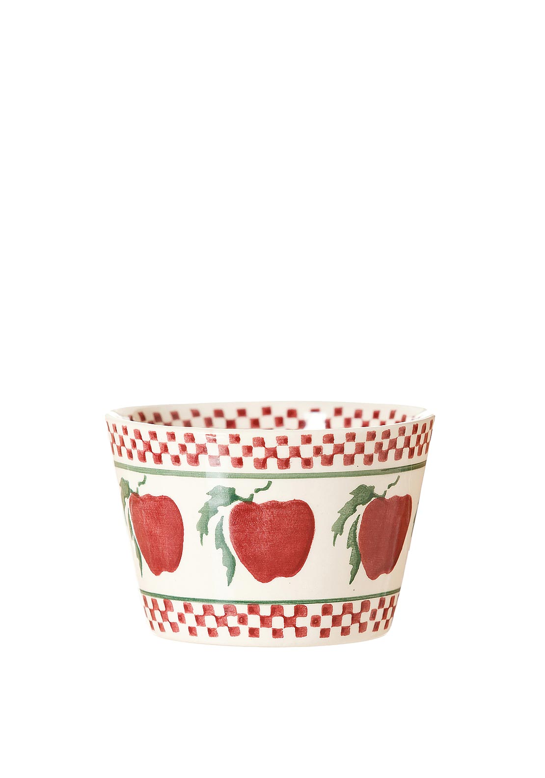 Nicholas Mosse Pottery Apple Custard Cups