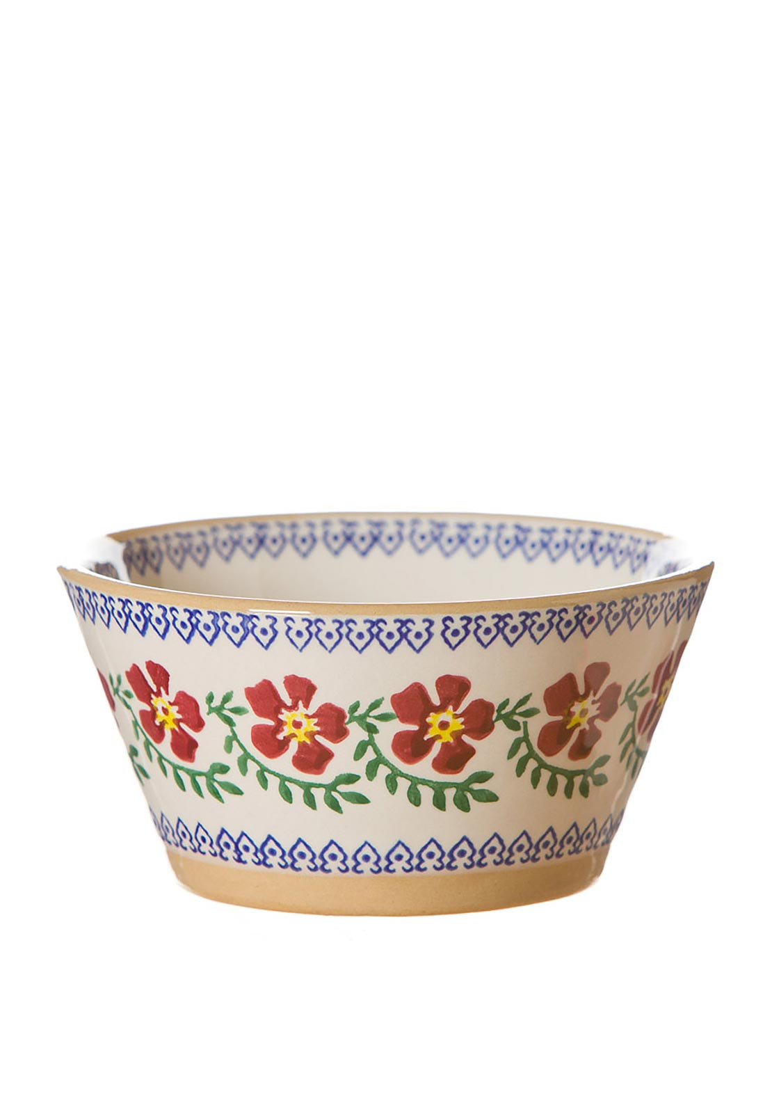 Nicholas Mosse Pottery Old Rose Angled Bowl, Small