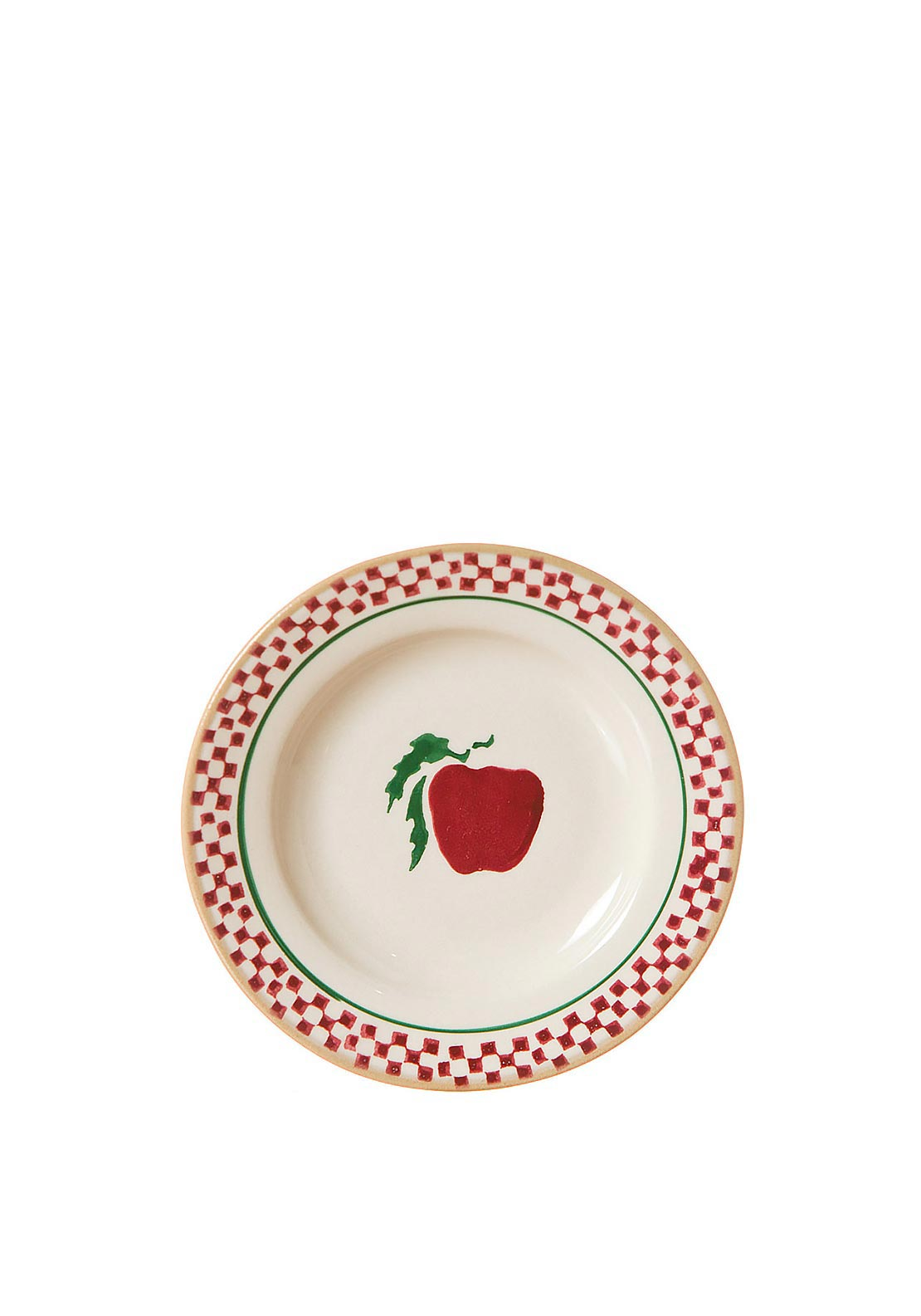 Nicholas Mosse Pottery Apple Tiny Heart Plate
