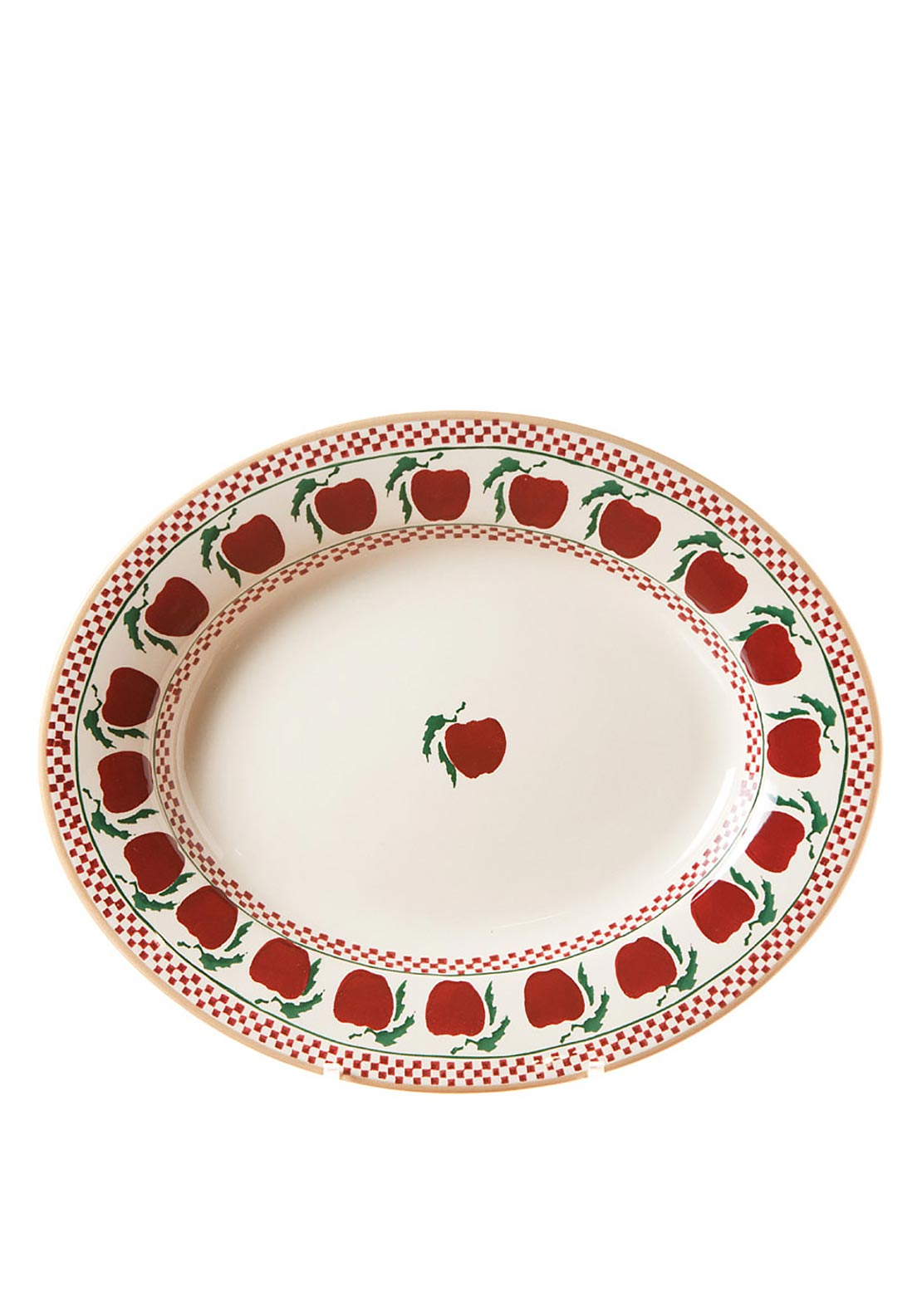 Nicholas Mosse Pottery Apple Oval Serving Dish, Small