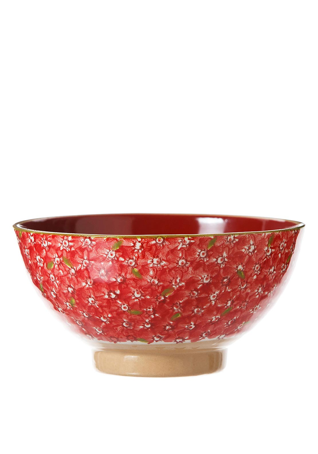 Nicholas Mosse Pottery Red Lawn Vegetable Bowl