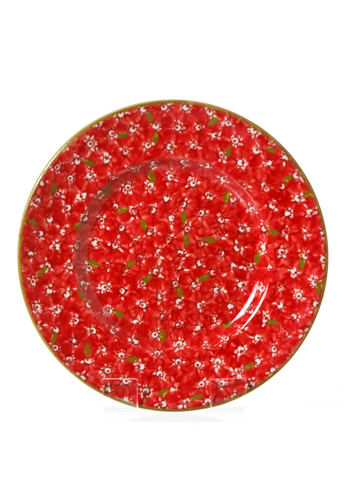 Nicholas Mosse Pottery Red Lawn Lunch Plate