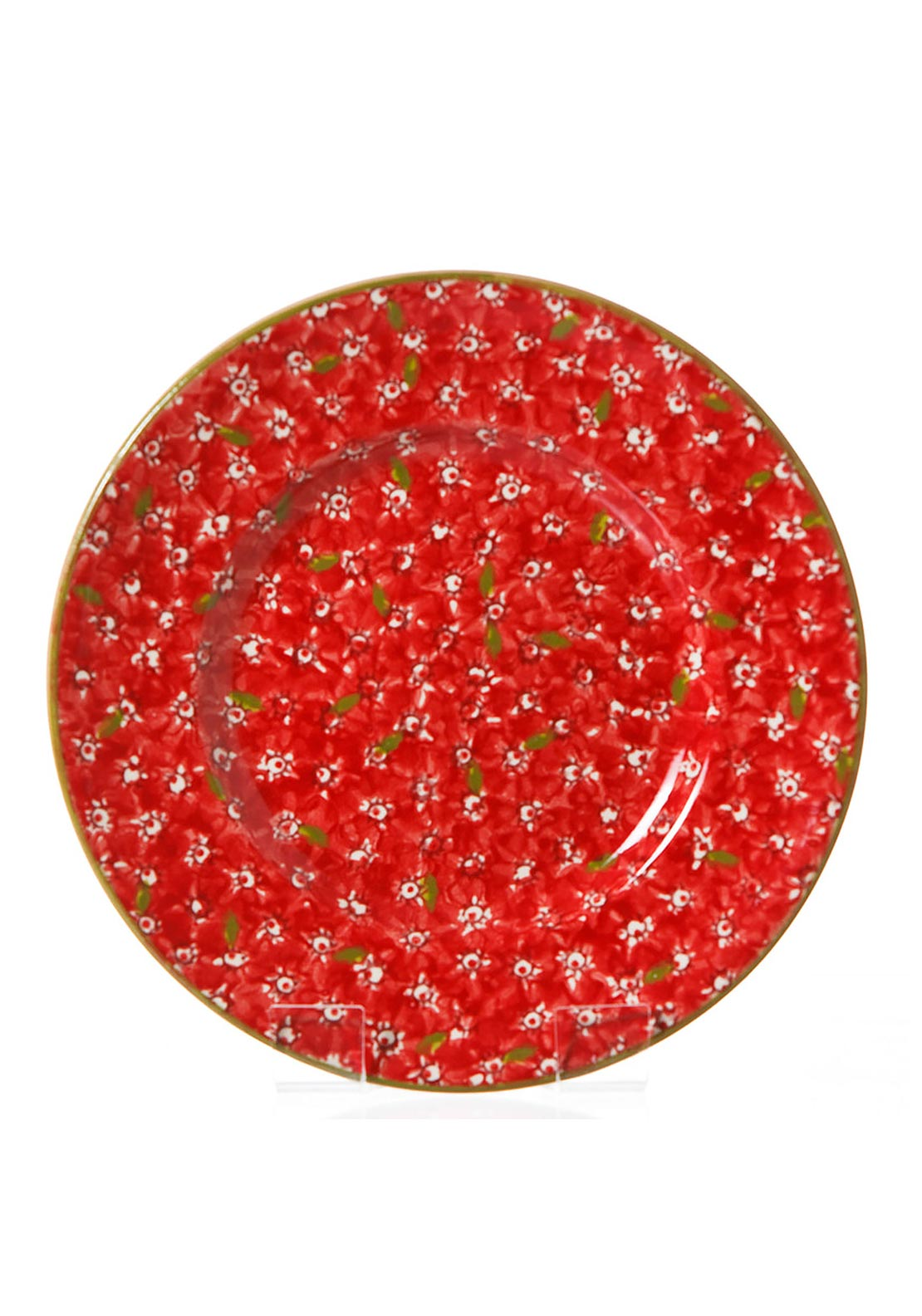 Nicholas Mosse Pottery Red Lawn Everyday Plate