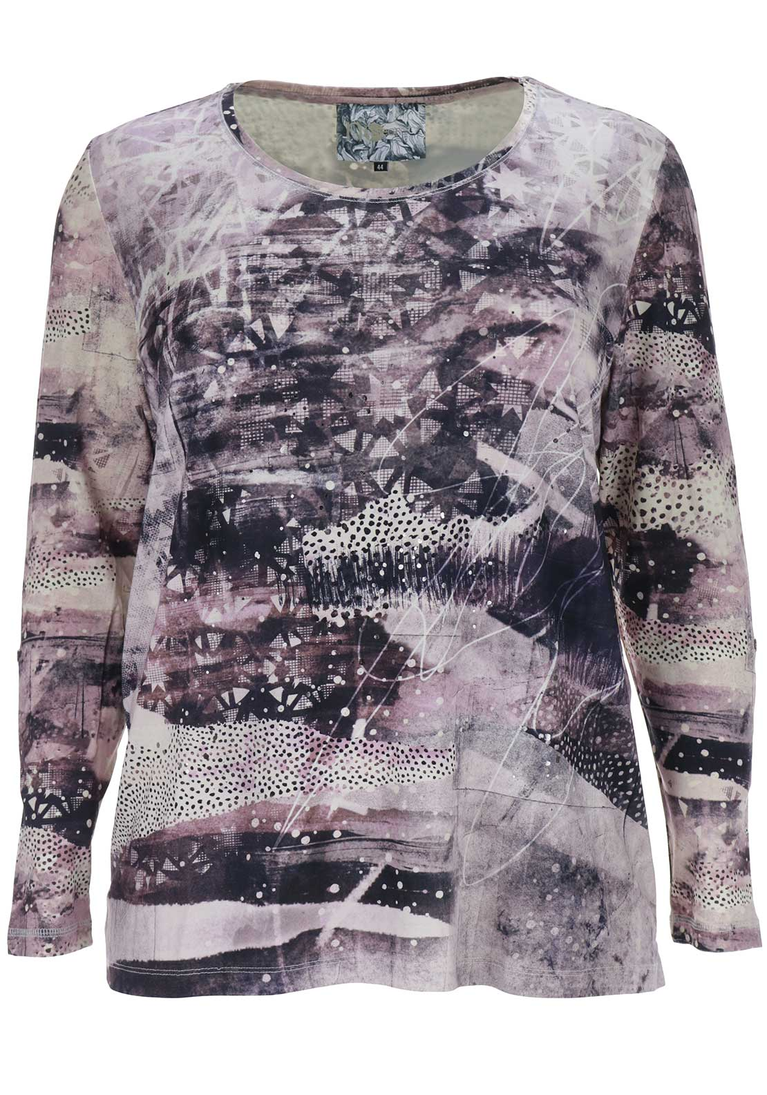 No Secret Printed Tunic Top, Multi-Coloured