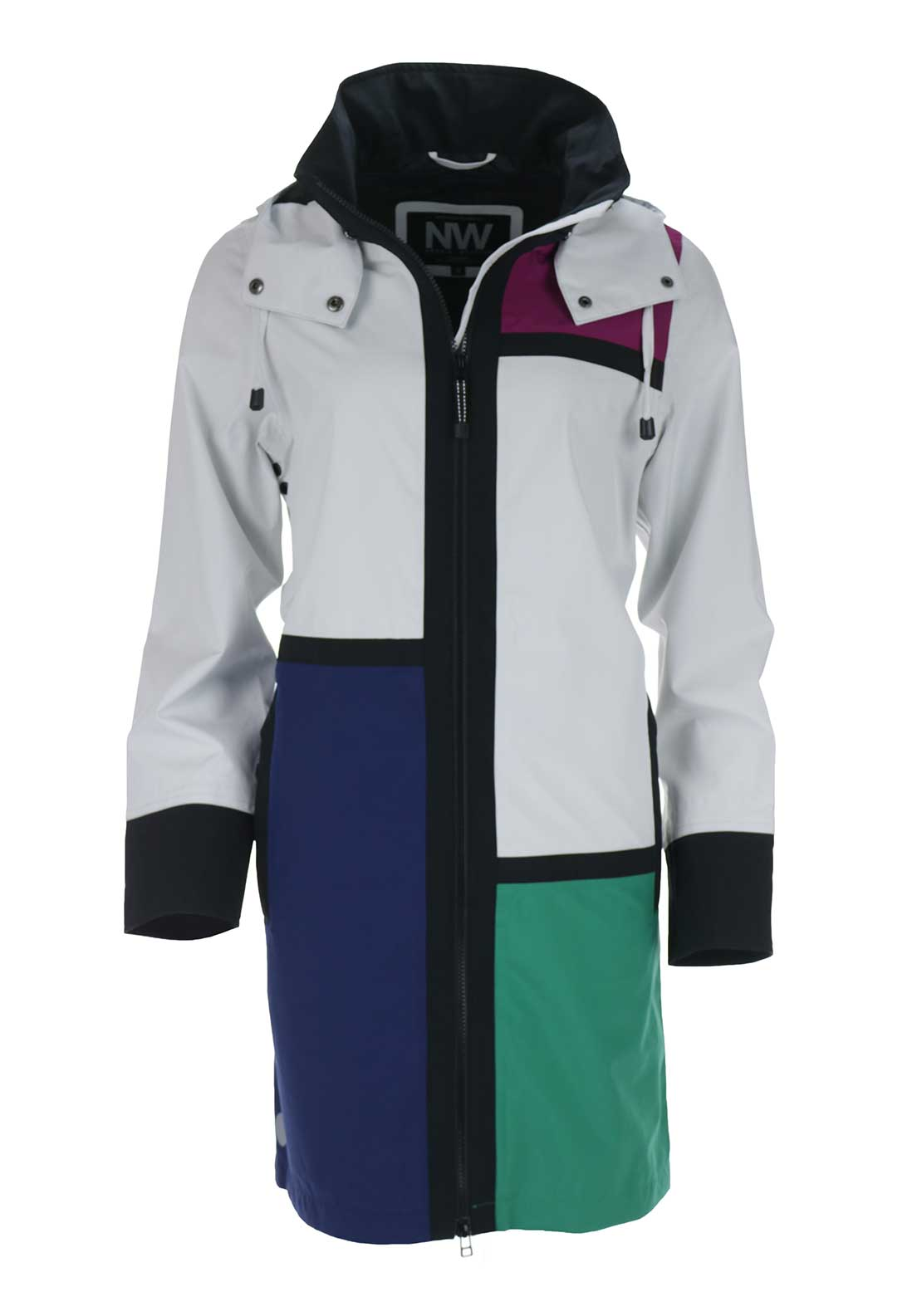 Nordic Weather Waterproof Coat, Multi-Coloured