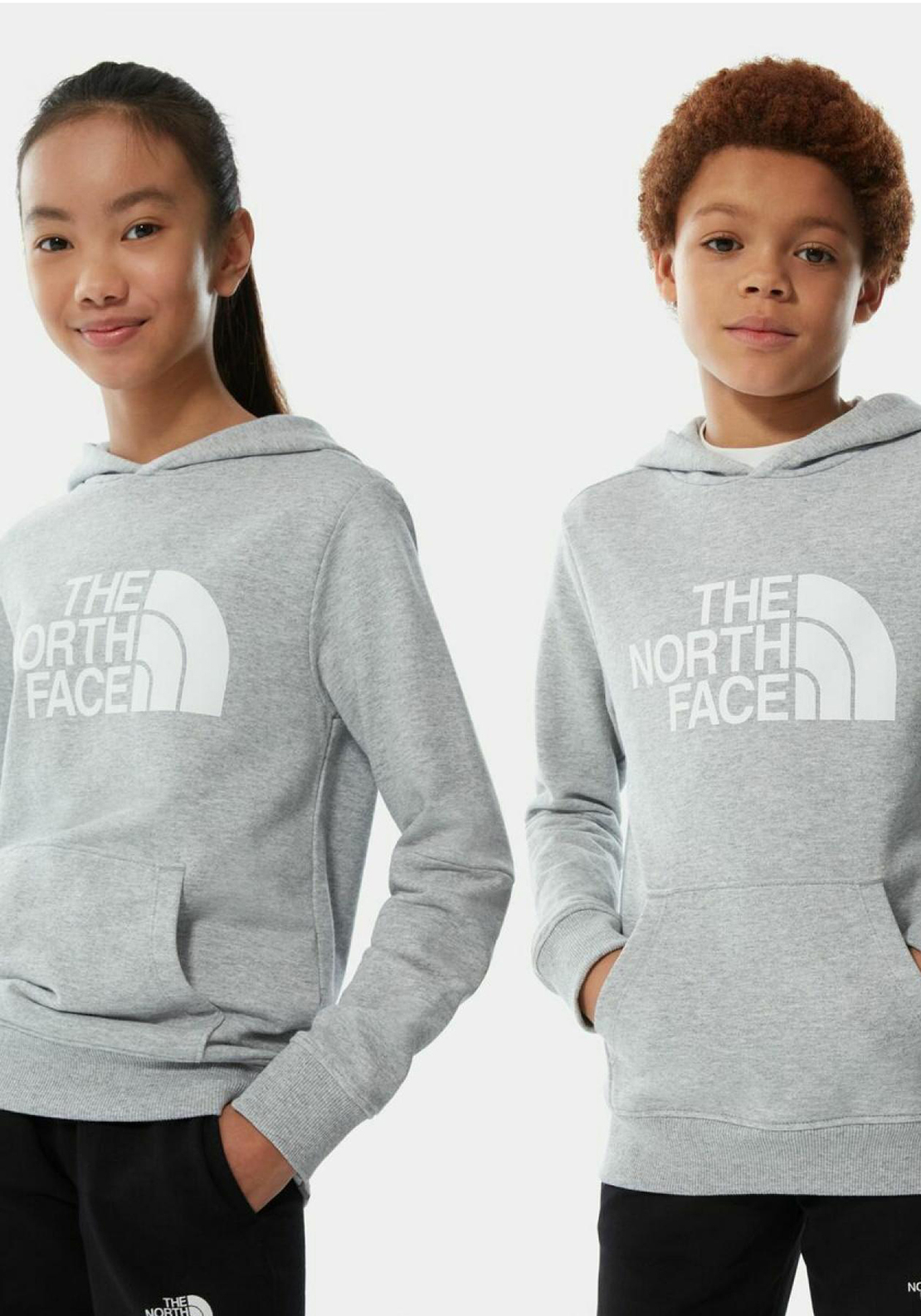 The North Face Kids Drew Peak Light Hoodie, Grey