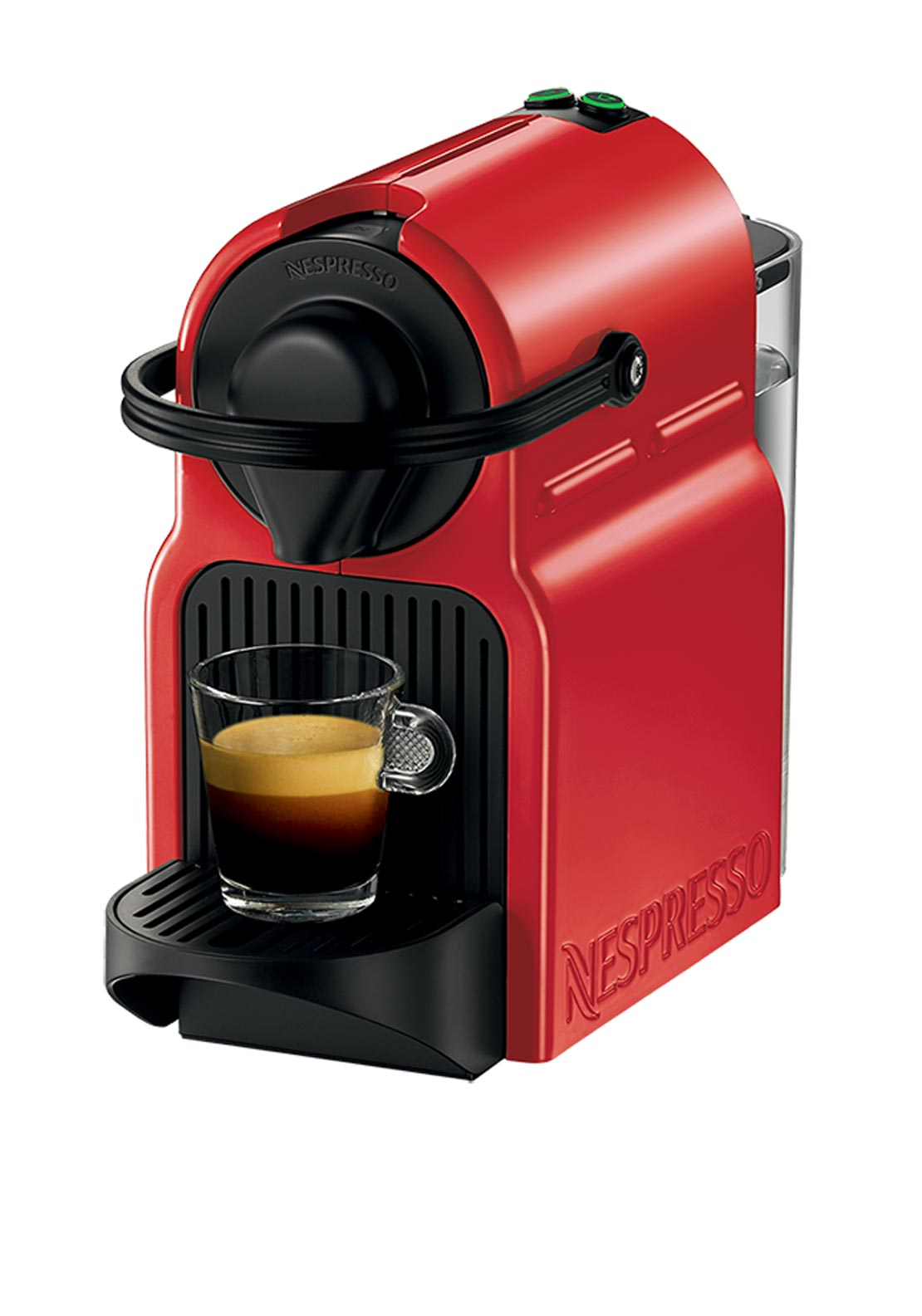 Nespresso Inissia Krups Coffee Machine, Red