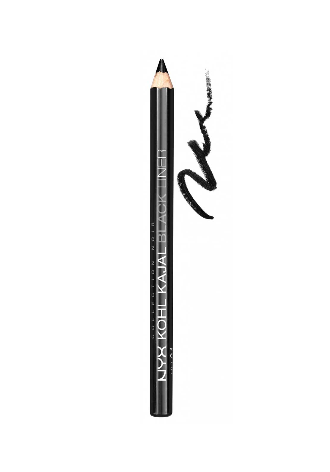 NYX Make Up Collection Noir Kohl Kajal Black Liner, Noir