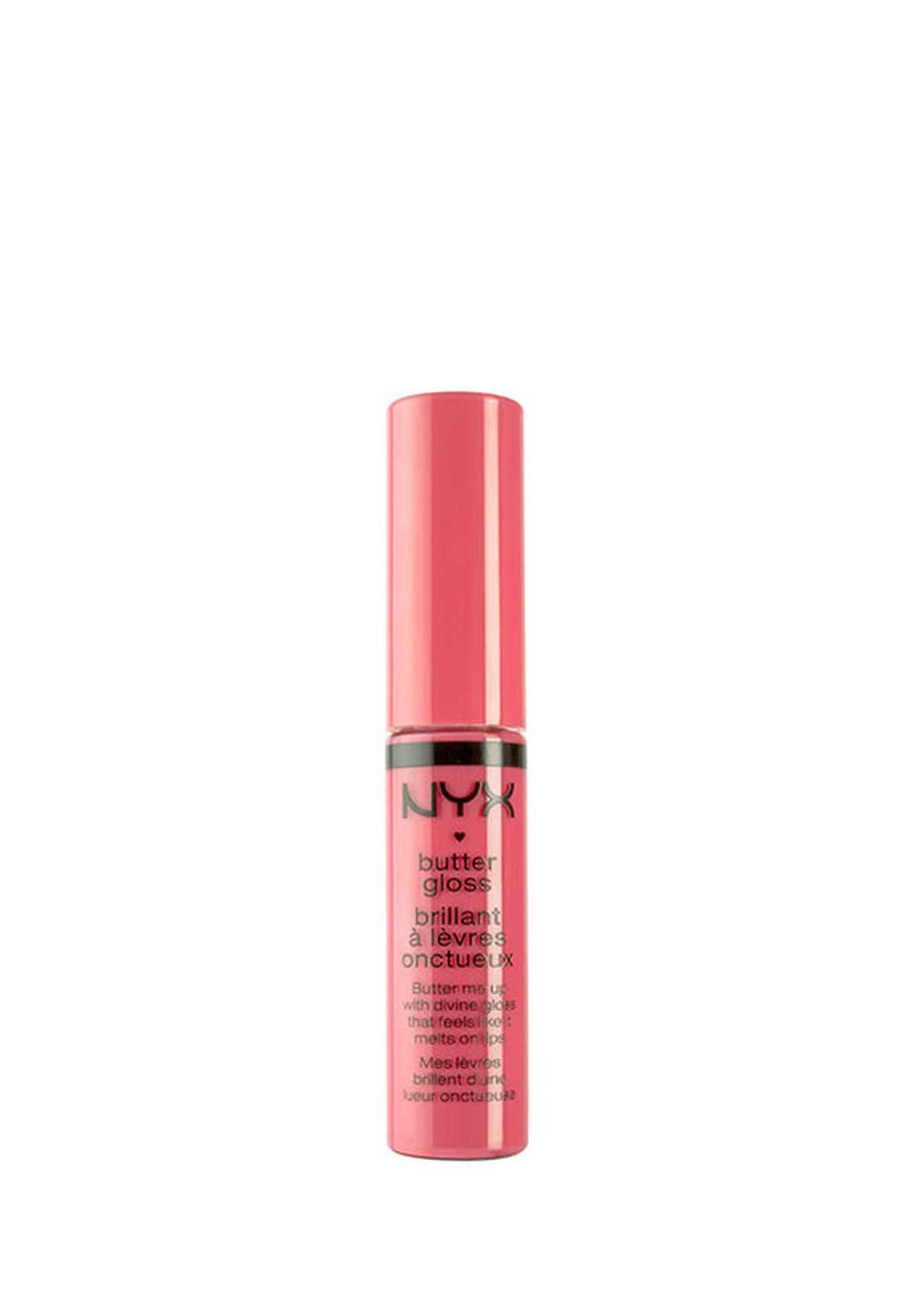 NYX Make Up Butter Gloss Lip Gloss, 03 Peaches and Cream