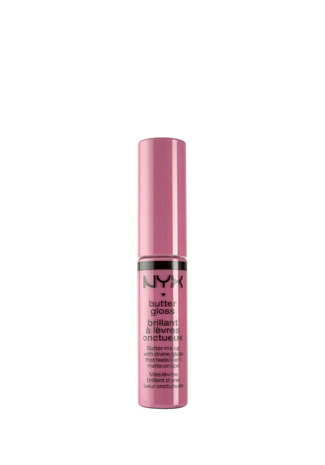 NYX Make Up Butter Gloss Lip Gloss, 04 Merengue