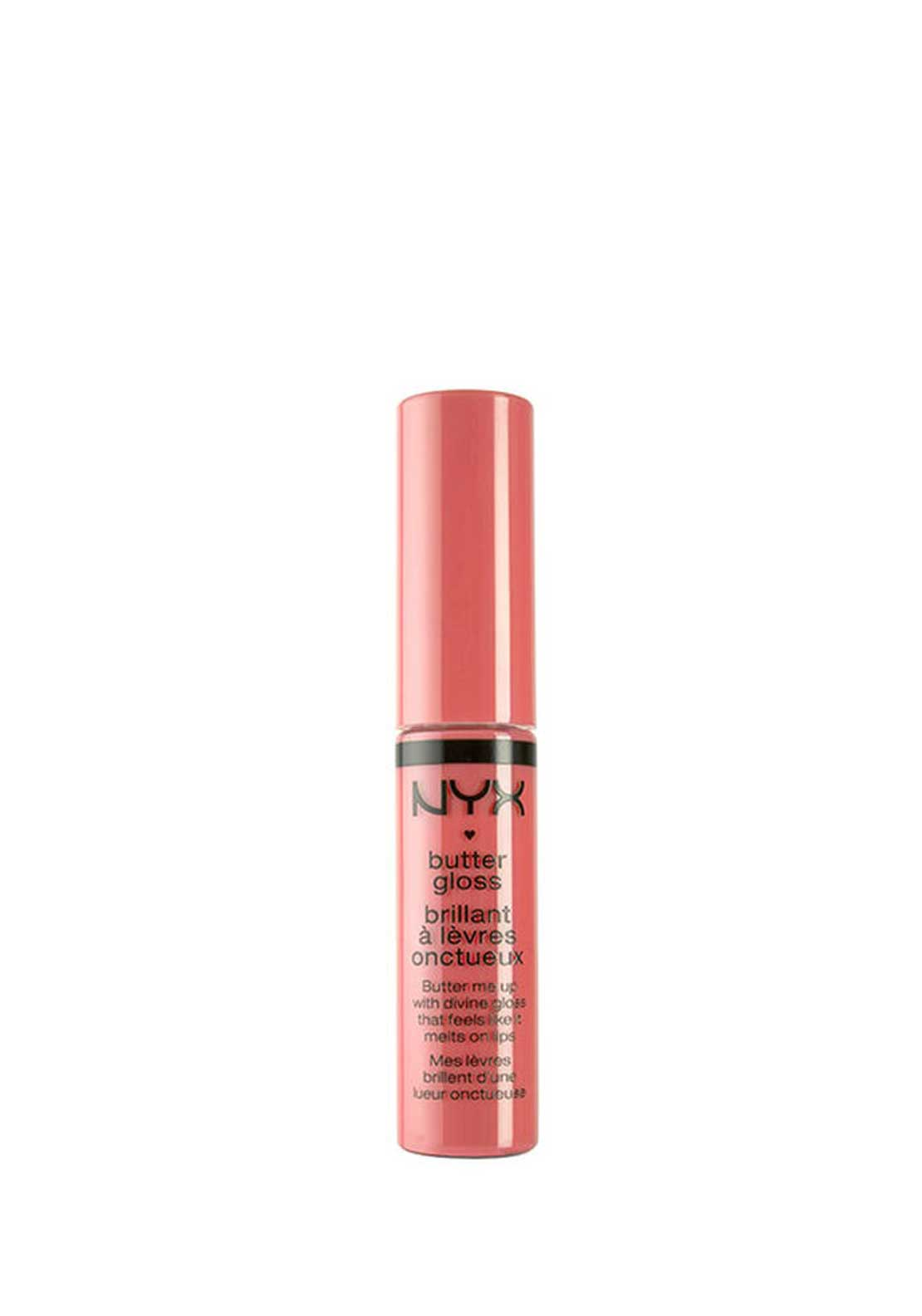 NYX Make Up Butter Gloss Lip Gloss, 08 Apple Strudel