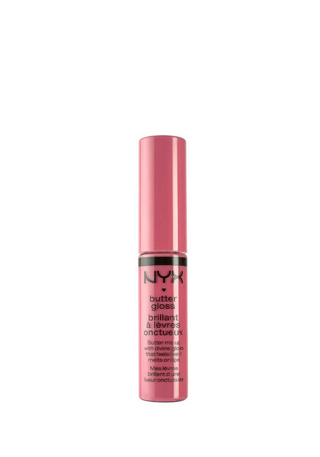 NYX Make Up Butter Gloss Lip Gloss, 09 Vanilla Cream Pie