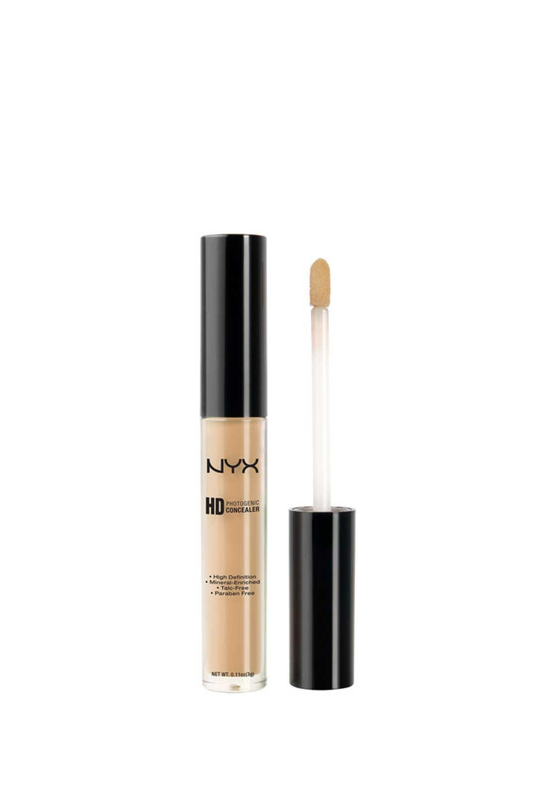 NYX Make Up HD Concealer Wand, 08 Nutmeg