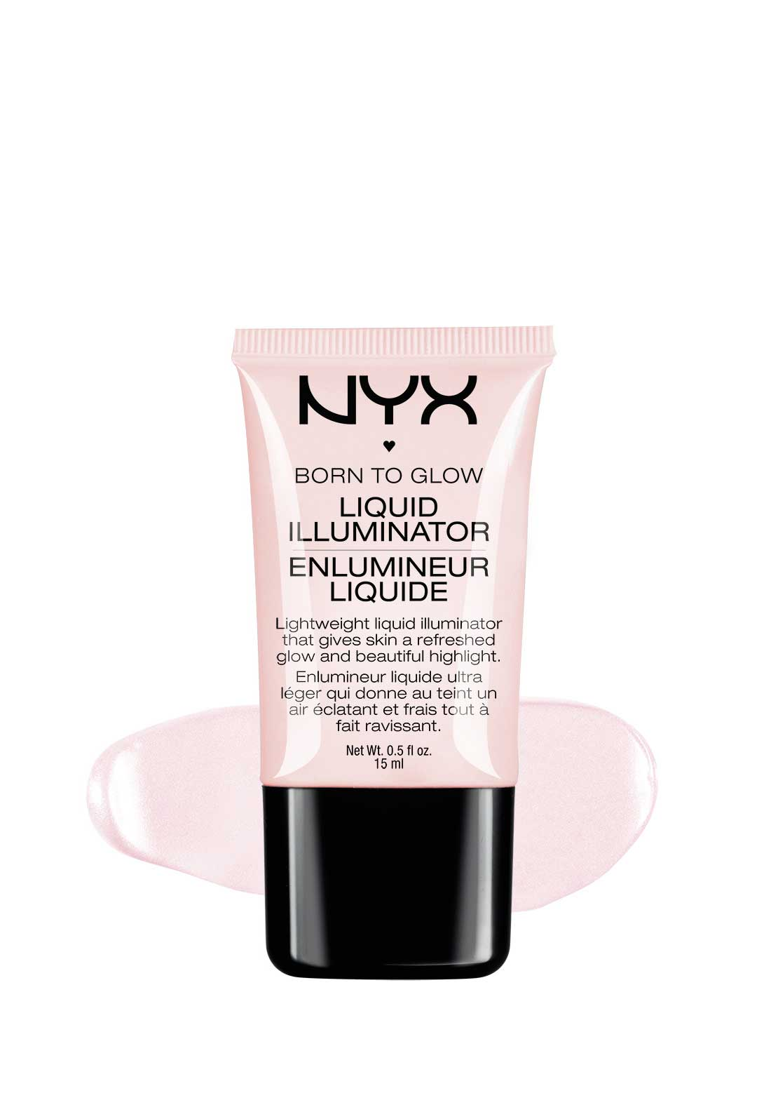 NYX Make Up Born to Glow Liquid Highlighter, Sunbeam
