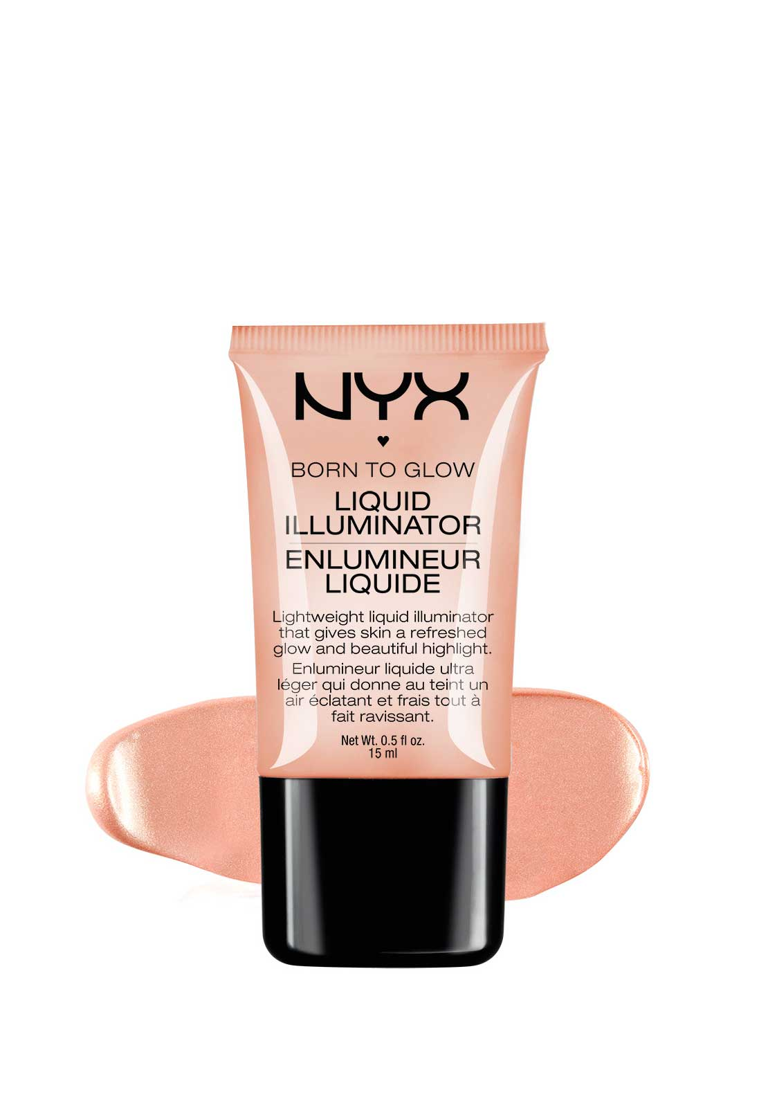 NYX Make Up Born to Glow Liquid Highlighter, Gleam