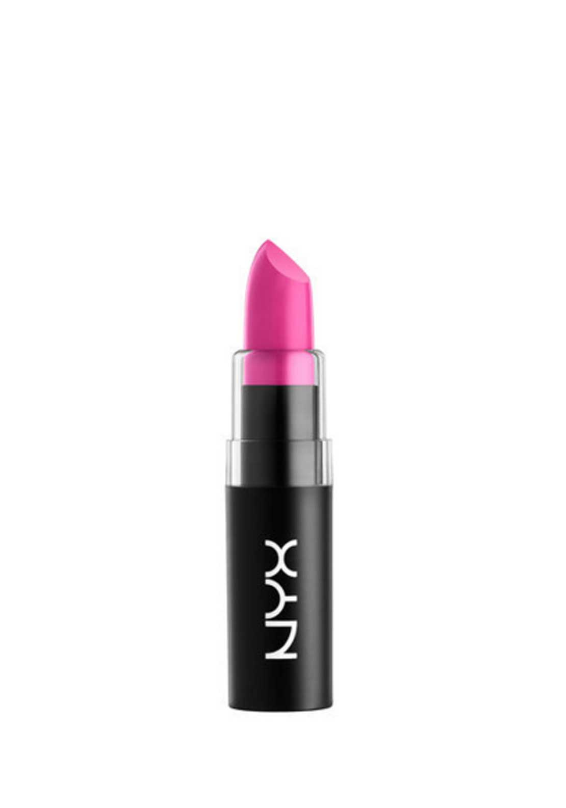 NYX Make Up Matte Lipstick, 02 Shocking Pink