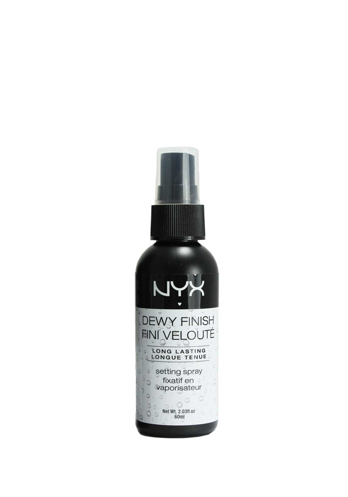 NYX Make Up Setting Spray Dewy Finish, 60ml