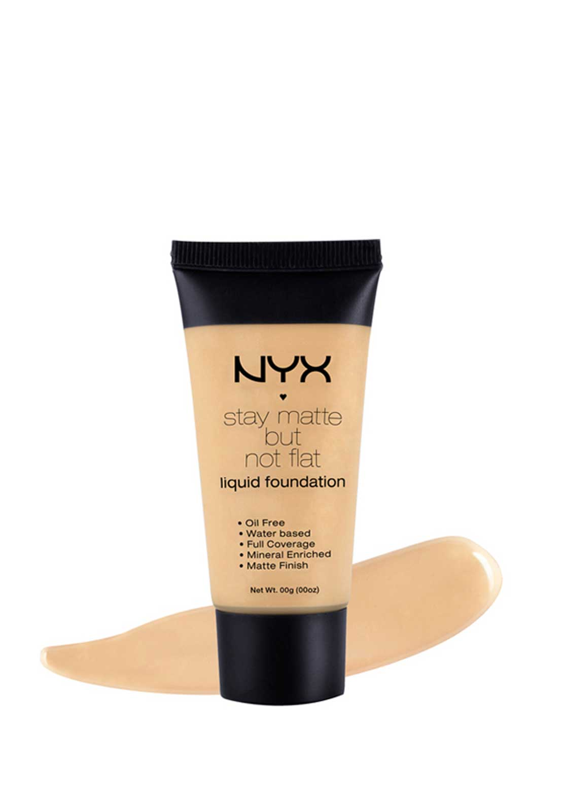 NYX Make Up Stay Matte but not flat Foundation - 02 Nude