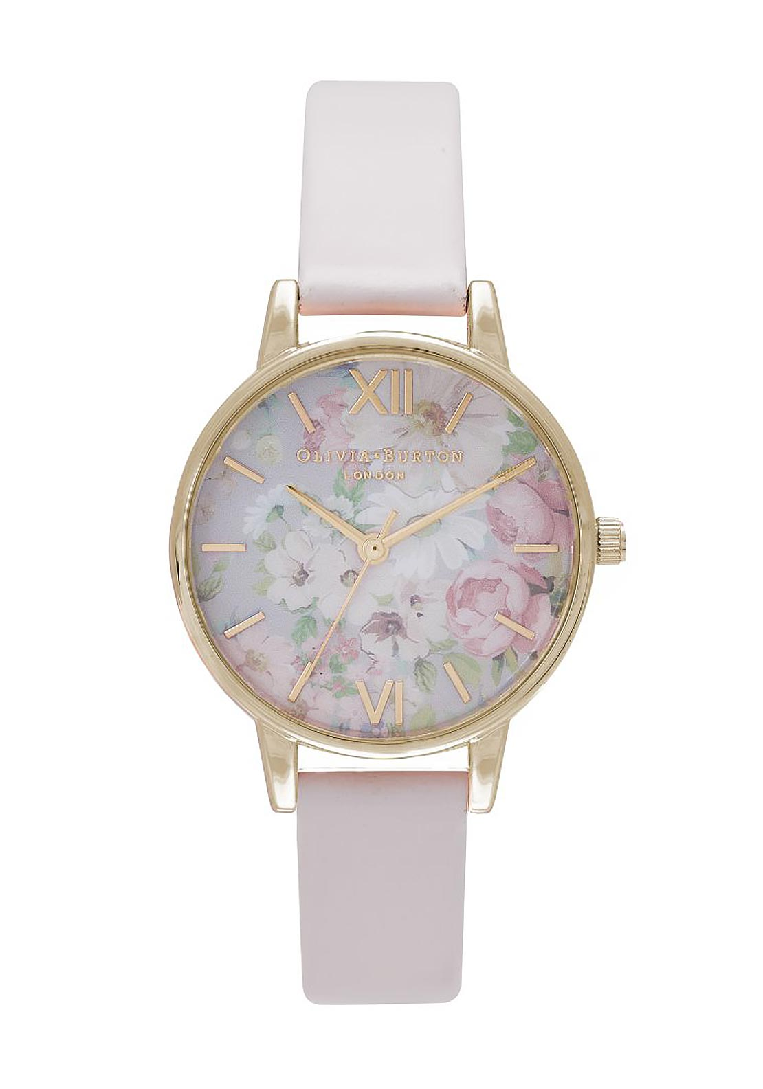 Olivia Burton Flower Show Watch, Blush & Gold